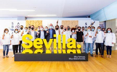 Cervezas Alhambra celebra en Sevilla su ruta gastronómica 'Saborea Sin Prisa'