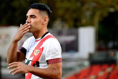 Falcao, por un nuevo debut goleador en el Rayo Vallecano