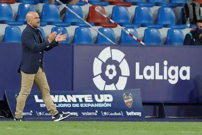 Paco López: ?Nunca he notado falta de confianza de nadie del club?