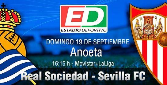 Real Sociedad - Sevilla FC: Regresa a LaLiga contra un equipo enrachado