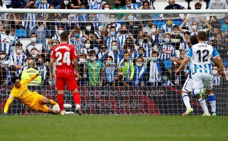 Real Sociedad-Sevilla FC (0-0): Bono cimenta un empate labrado a pico y pala