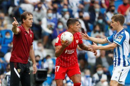 El Sevilla inició el trabajo en una semana con dos partidos en el Pizjuán