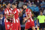 1-2. Luis Suárez resucita al Atlético