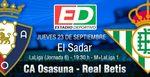 CA Osasuna - Real Betis