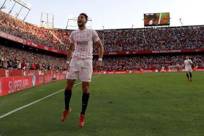 3-1. El Sevilla vuelve a la senda victoriosa y frena al Valencia