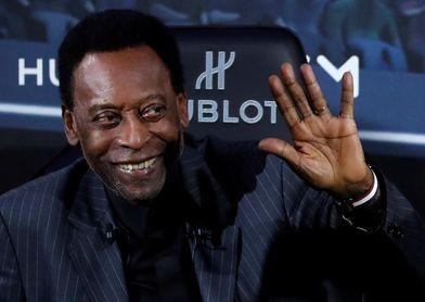 "Pelé, animado desde el hospital: ""Pedaleando así, pronto vuelvo a Santos"""
