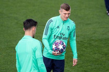 Toni Kroos sigue dando pasos para su vuelta a la competención