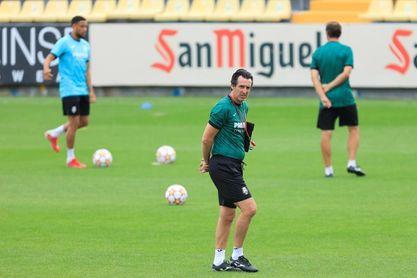 """Emery: """"El Madrid es un reto que nos motiva y nos exige al máximo"""""""
