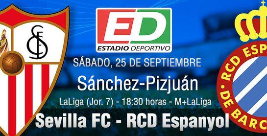 Sevilla FC-RCD Espanyol: Dosificando fuerzas al rebufo del triunfo en pleno maratón