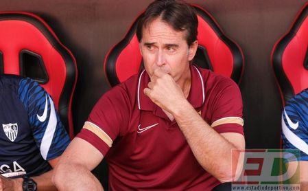 """Lopetegui sólo tuerce el gesto por la lesión En-Nesyri: """"No parece poca cosa"""""""