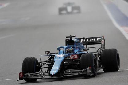 """Alonso: """"Me hace ilusión salir bastante por delante de mi compañero"""""""