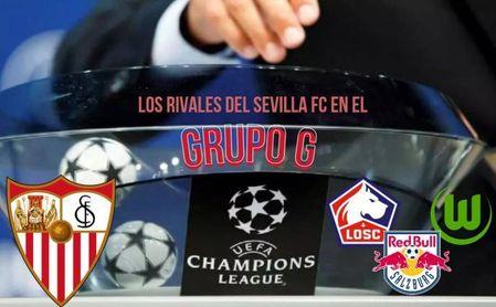 Rivales Champions: Victorias de Lille y RB Salzburgo