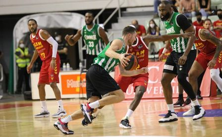 Real Betis Basket - Baxi Manresa: Consolidar San Pablo como un fortín