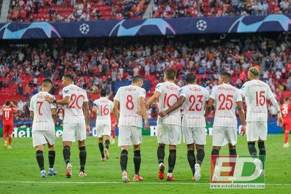 El Sevilla ganó en cinco de sus once visitas a rivales alemanes
