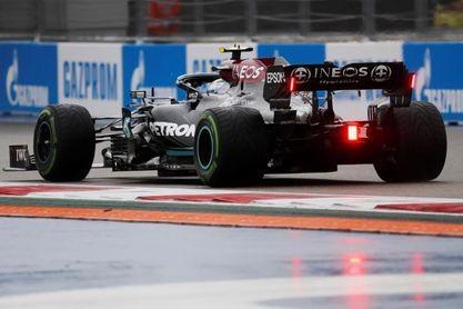 Bottas cambia la unidad de potencia y tratará de frenar a Verstappen