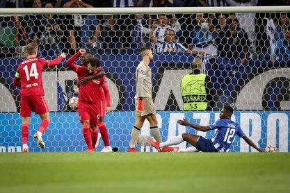 1-5. Salah y Firmino fulminan al Oporto
