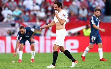 Delaney habla de su expulsión, de su llegada al Sevilla FC, de la competencia, de Lopetegui...