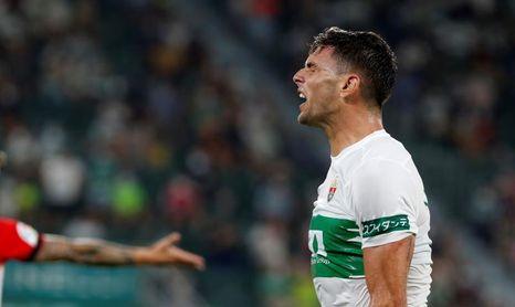 Lucas Boyé se incorpora al grupo y apunta al partido ante el Celta