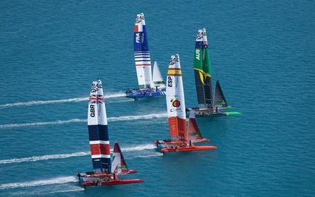 Cádiz, lista para acoger a los catamaranes voladores de SailGP