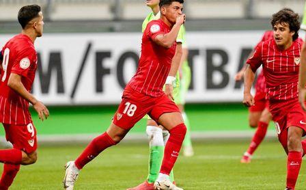 El Sevilla FC Juvenil rasca un empate en su visita al Wolfsburgo (1-1) en la UEFA Youth League