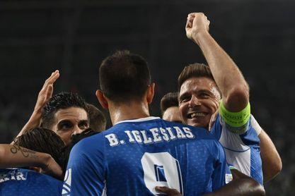 1-3. El Betis sigue pujante en Europa