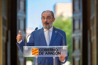 """Lambán confía en salvar el """"escollo"""" con Cataluña para los JJOO 2030"""
