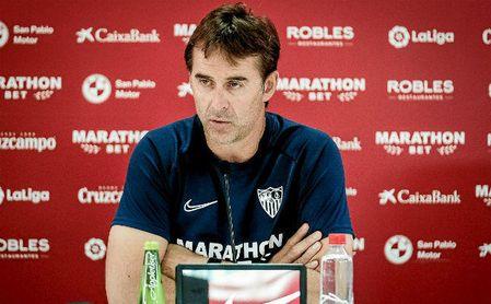 Lopetegui habla del debut de Augustinsson, de Lamela como '9' y de las bajas del Sevilla en Granada