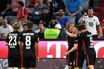 El Eintracht le propina al Bayern su primera derrota de la temporada