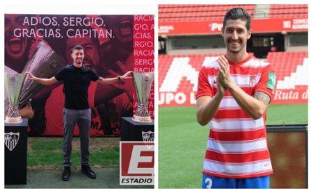 El reencuentro del Sevilla FC con Escudero en Granada: uno de los suyos