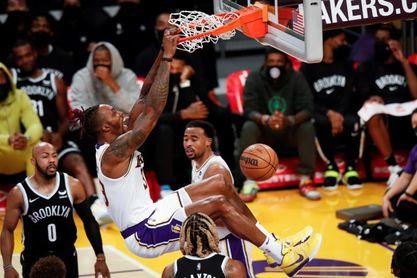 97-123. El banquillo de los Nets fue mucho mejor que el de los Lakers