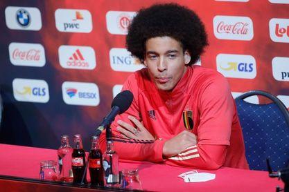 """Axel Witsel: """"Benzema está verdaderamente fuerte"""""""