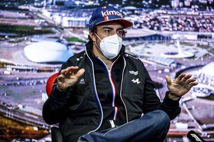 "Alonso: ""Tenemos que mantener esta regularidad"""