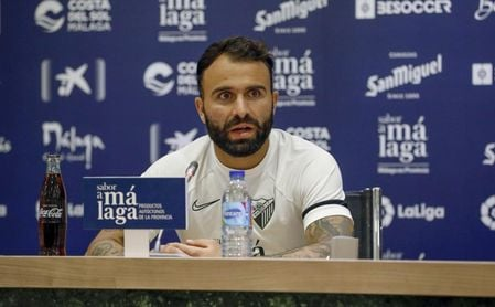 Javi Jiménez, sobre la actualidad del Málaga: el Valladolid, la lesión de Luis Muñoz