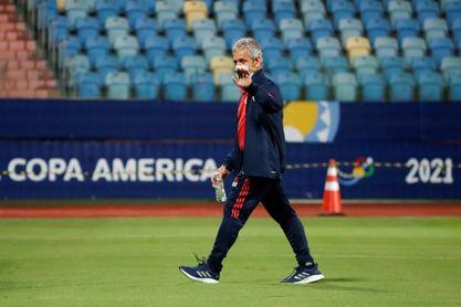 """Reinaldo Rueda: """"Colombia va a ser fiel a lo que le gusta a sus jugadores"""""""