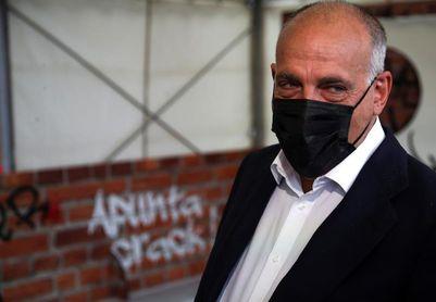 """Tebas: """"En el Barça me preocupa más la crisis institucional que la económica"""""""