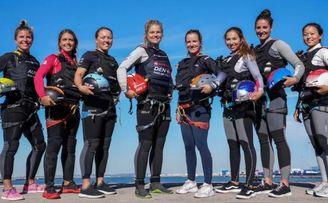 Las mujeres competirán por primera vez a bordo de los F50 en Cádiz.