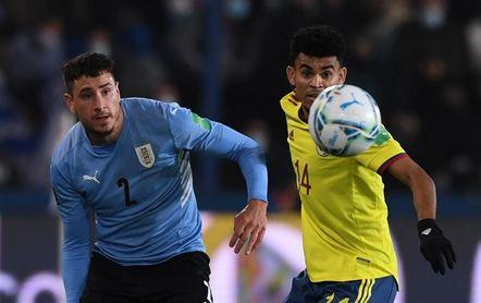 Giménez y De Arrascaeta, bajas de Uruguay ante Argentina y Brasil