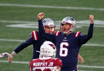 22-25. Folk anota el gol de campo ganador y los Patriots detienen la mala racha