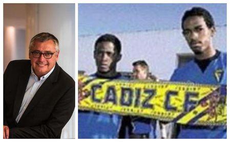 """De """"diamante en bruto"""" recomendado al Cádiz por Robinson a petardazo y presidente del fútbol de su país."""