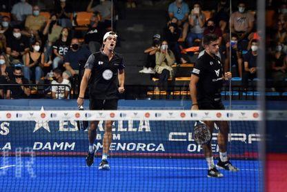 Triay-Salazar y Galán-Lebrón, campeones del Estrella Damm Menorca Open
