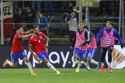 2-0.Chile logra su segunda victoria de las eliminatorias venciendo a Paraguay