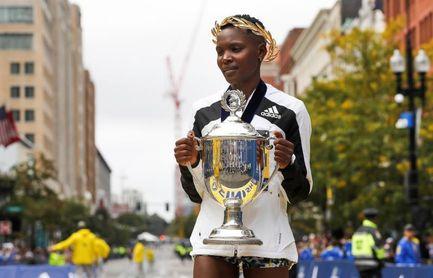 Dominio keniano con Kipruto y Kipyogei en el regreso del Maratón de Boston