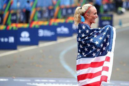 Flanagan corre en Boston su segundo maratón en 24 horas