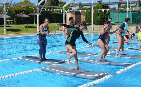 Aquafit board, también los sábados en el SADUS