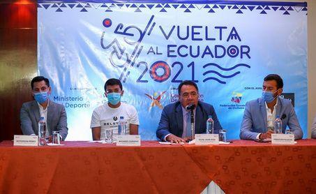 Ecuador quiere internacionalizar su Vuelta con el impulso de Carapaz