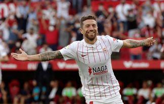 Koundé y Papu Gómez engrosan la lista de bajas del Sevilla para Vigo