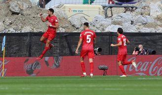 0-1. Rafa Mir certifica la victoria del Sevilla en Balaídos